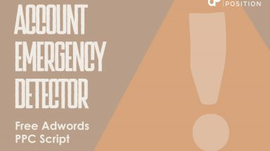 Account Emergency Detector – Free Adwords PPC Script