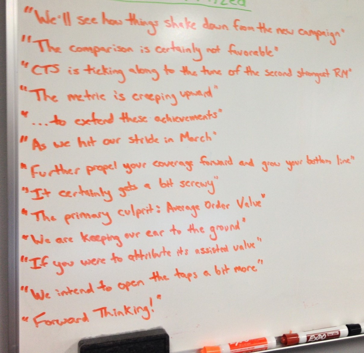 Whiteboard PPC Agency Phrases